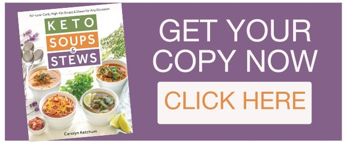 Order Keto Soups and Stews Cookbook