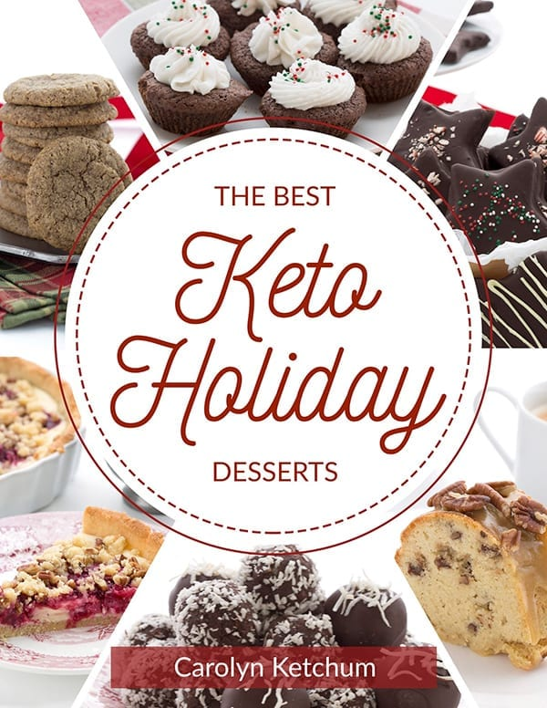The Best Keto Holiday Desserts Book