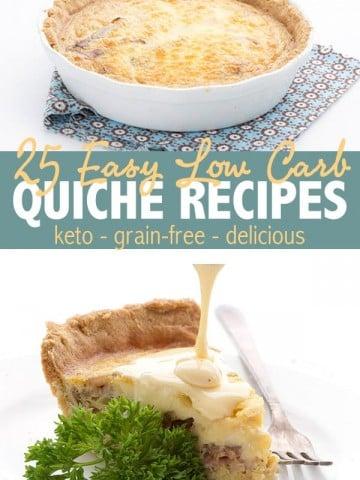 25 Easy Keto Quiche Recipes
