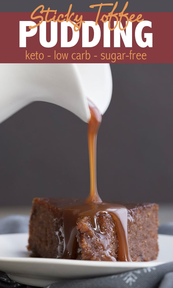 Keto Sticky Toffee Pudding