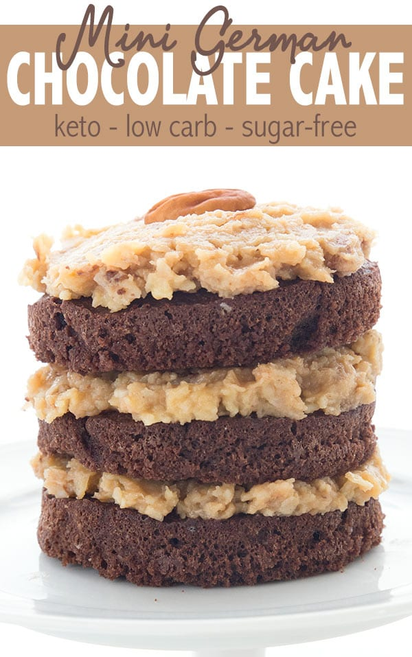 Keto German Chocolate Cake Recipe