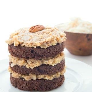 Mini German Chocolate Cake Recipe