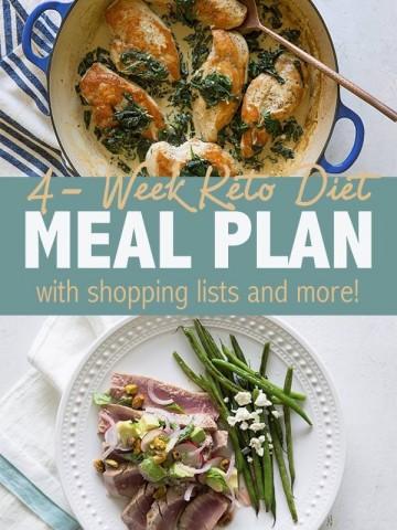4 Week Keto Meal Plan