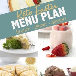 Keto Easter Menu Plan