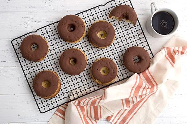 Keto Vanilla Cake Donuts