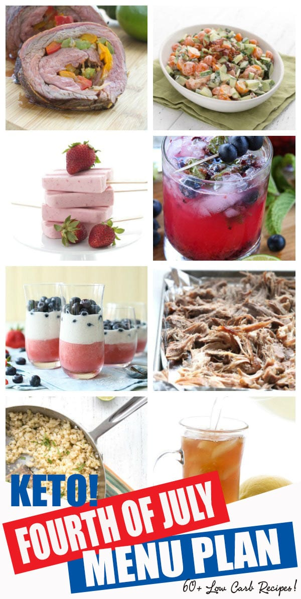 Keto Menu Plan For Fourth Of July All Day I Dream About Food