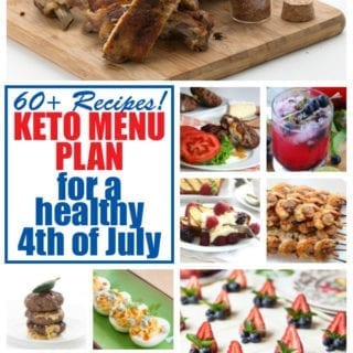 Keto recipes for Fourth of July
