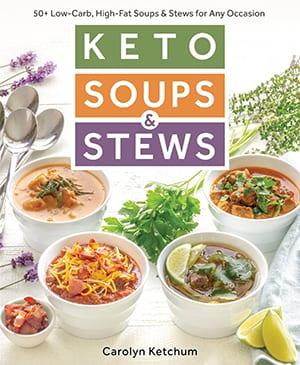 Keto Soups and Stews Cookbook Cover