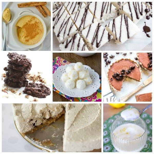 Easy No Bake Dessert Recipes Collage