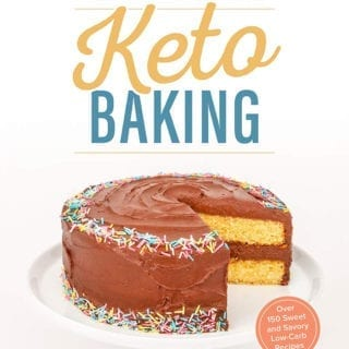 Book cover for the Ultimate Guide To Keto Baking