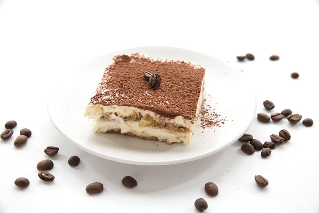 Keto tiramisu with homemade ladyfingers