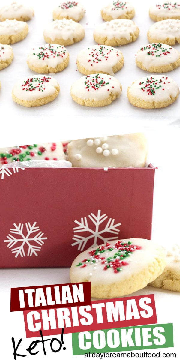 Keto Italian Christmas Cookies