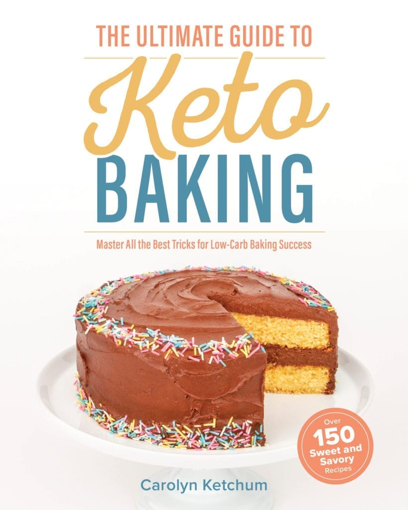 ULTIMATE GUIDE TO KETO BAKING - COVER - 9.27.19