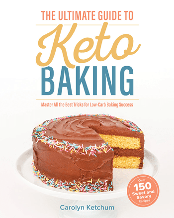 Cover shot of The Ultimate Guide to Keto Baking