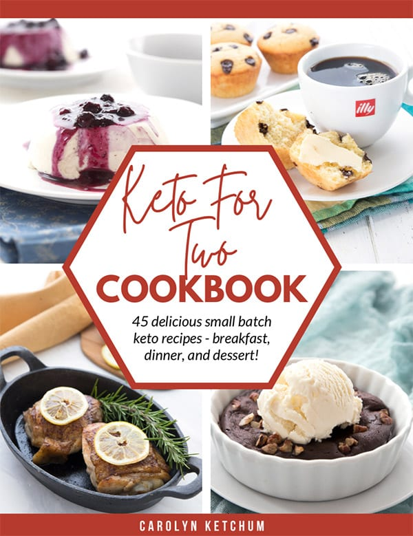 Cover image for Keto for Two Cookbook