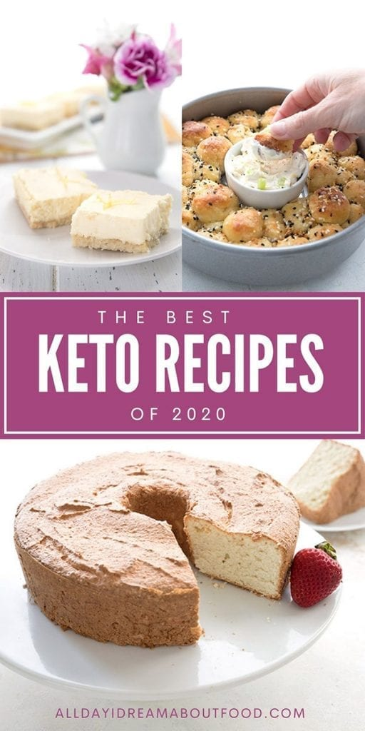 Pinterest collage for the top recipes of 2020