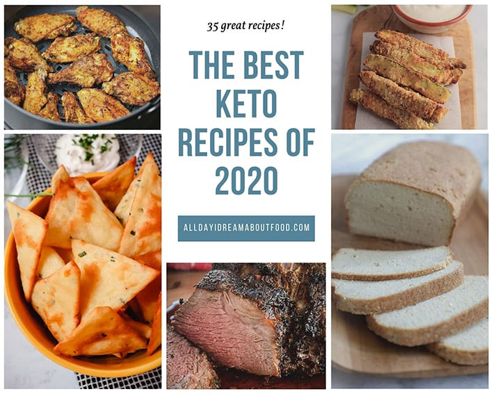 Collage of other bloggers' top recipes from 2020
